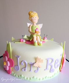 Tinkerbell Cake #cynfullysweets