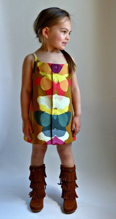 SHANDIIN Tank & Tunic  PDF Sewing Pattern for Girls 12/18mo