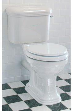 Lefroy Brooks Belle Aire close coupled toilet with ceramic lever handle LB7808, LB7807, LB7899