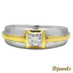 Solitaire Ring, Diamond Ring, Djewels, Diamond Band http://www.djewels.org/for-women/ladies-ring/yvette-solitaire-ring.html