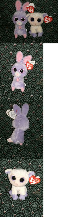f1dacbb69f2 Basket Beanies 158681  Ty Boo (Small Lamb And Bunny) Lily And Petunia (