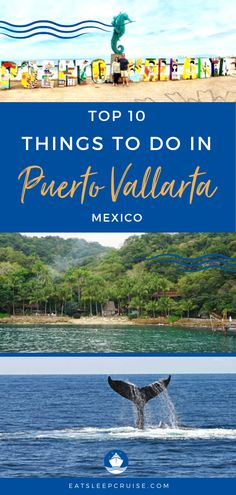 Top 10 Things to Do in Puerto Vallarta, Mexico | When travel and cruising resumes, you'll want to put Puerto Vallarta, Mexico on your travel bucket list. It's a great destination to travel with kids or a romantic destination for couples. Here we share what to do in this cruise port, and there is more than the beach or local restaurants. Check it out and you'll be ready to make your dreams a reality. #PuertoVallarta #Mexico #MexicanVacation #Excursions #CruiseVacation