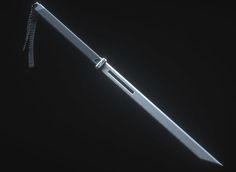 ArtStation - Sci-Fi Sword, Travis Davids