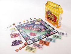 Guanapolio! Monopoly para los salvadoreños :) Available now on Amazon.com - yay! http://www.amazon.com/Guanapolio/dp/B00HNEXL9S