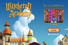 Graduate with honors and wins of up to 160,000 coins when you play the Witchcraft Academy #slot from NetEnt- https://www.freeslotmoney.com/witchcraft-academy-slot/