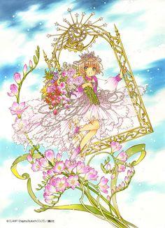 Cardcaptor Sakura, Manga Anime, Manga Art, Anime Art, Card Captor, Clear Card, Kawaii, Anime Shows, Magical Girl