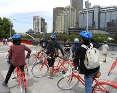 Melbourne All In One City Bicycle Tour Oz Tour Guide