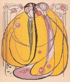 Gallery.ru / Photo # 10 - Barbara Hammet Art Nouveau. Cross Stitch - Jasnaja