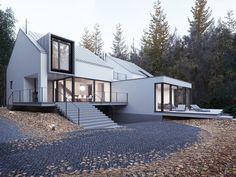 AUTUMN HOUSE on Behance