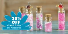 Wish Bottles are on sale at www.cffstore.com!!! #wish #mini #bottles