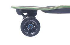 Magneto electric skateboard, Longboard, longboarding