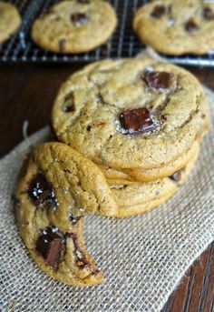 The Cooking Actress: Healthy Flourless Nut Butter Cookies