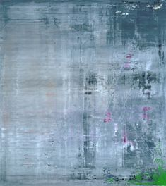 Oil on canvas Abstract Painting by Gerhard Richter | 2001 200 cm x 180 cm