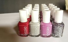 Lot of 20 ESSIE Wholesale Nail Polish Baby Bridal Shower Party Favor pinks,dove #Essie