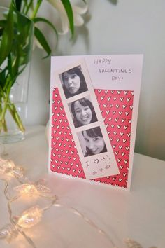 For me there is something special about making something personal for Valentines Day. We don't tend to go overboard but a little card and present shows tha