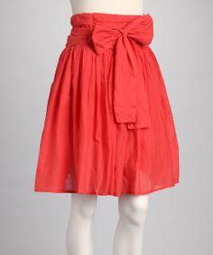 High Waisted Skirt With Bow   Jill Dress