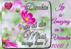 Birthday Prayer, Goeie Nag, Afrikaans, Friends Forever, Prayers, Thankful, Friendship, Relationships, Poetry
