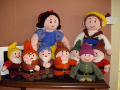 du tricot et des jouets: Modèles jouets et poupées