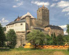 The Castle of Kost in the Czech Republic