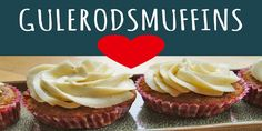 Gulerodsmuffins Tapas, Meal Prep, Recipies, Cupcakes, Bread, Meals, Forelsket, Desserts, Food