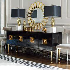 Mid Century Modern Furniture & Luxury Furnishings   by Designer Jonathan Adler