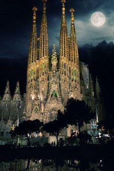 sagrada famila, Barcelona, Spain