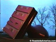 World's Largest Rubber Stamp, Cleveland, Ohio Watch the vlog here: https://www.youtube.com/watch?v=QU0dAfK_GBo