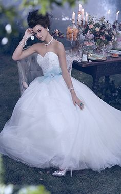 Alfred Angelo Bridal Style 241 from Disney Fairy Tale Bridal. A Cinderella wedding Wedding Dress Cinderella, Disney Wedding Dresses, Wedding Dresses 2014, Disney Dresses, Princess Wedding, Wedding Dress Styles, Wedding Gowns, Disney Weddings, Cinderella Disney