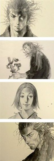 Illustration   Vagabond バガボンド   Inoue Takehiko 井上雄彦