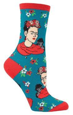 Frida Kahlo Socks from The Sock Drawer