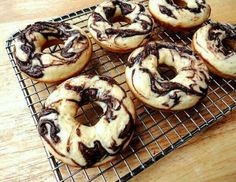 Nutella Chocolate Donuts
