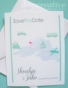 Save The Dates - from afar! (Lake Superior)