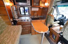 That's a hell of a lot of kitchen for your money!  House Love Camper Van  House Love Camper Van