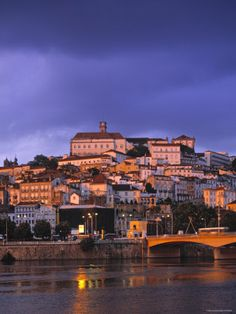 Coimbra, Portugal (/live)  Where the hubby is from!
