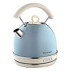 Ariete 2877LB Vintage Style Kettle with 1.7L Capacity and 2000W in Light Blue