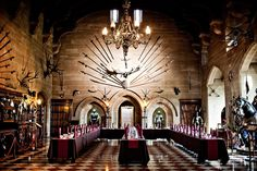 pics of medieval great halls | The Kingmaker's Banquet Warwick Castle