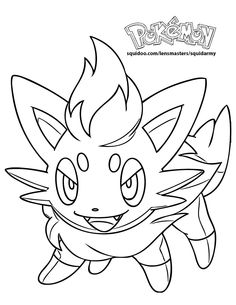 Pokemon Pikachu Coloring Pages 8