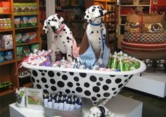 Pet Shampoo is best experienced surrounded by dalmatics in a tub
