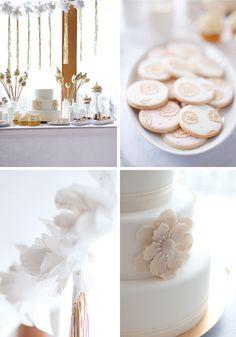 Sweet Decoration in White and Gold // Сладка декорация в бяло и златно | 79 Ideas