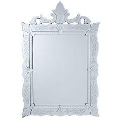 Stunning Venetian Mirror - Wisteria - $279.00 - domino.com