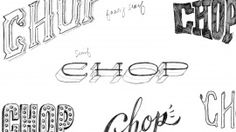 """Project by Angela Tomson from """"The First Steps of Hand-Lettering: Concept to Sketch (Lettering I)"""""""
