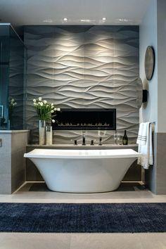 Tiles:Bathroom Remodel Tile Ideas Tub Surround Tile Design Ideas Bathtub Shower Tile Designs Bathroom Tile Ideas Install 3d Tiles To Add Texture To Your Bathroom Wavy Bath Tub Tile Idea