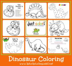 Just Color! ~ Free Coloring Printables