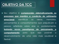 TCC - Terapia Cognitivo Comportamental