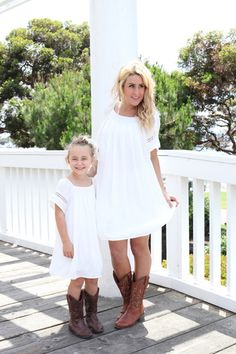 Southern Belle Shift Dress in Ivory Littles - Be Inspired Boutique