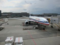 Boarding An American Airlines Plane | Lost in Translation: American Airlines First Class Tokyo Narita to Los ...