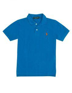 Boy's Small Logo Polo Shirt