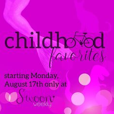 Announcing: Childhood Favorites this Monday, August 17th only at @swoonweekly!  It's a week full of fabulous playful finds that allow you to pair fond memories with amazing accessories.  #childhood #fab #favorites #faves #idontwannagrowup #instagood #instafab #weeklytheme #themed #curated #collection #swoon #swoonweekly #swoonworthy #necklace #bracelet #earrings #dinos #mermaid #bicycle #weekly