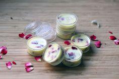 lippenbalsam selber machen mit roseblätter und roseöl