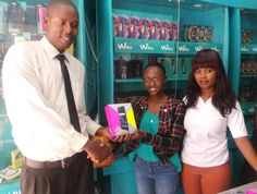 Jonathan Won the Wiko Fizz after predicting the correct score to an EPL game #WikoScore